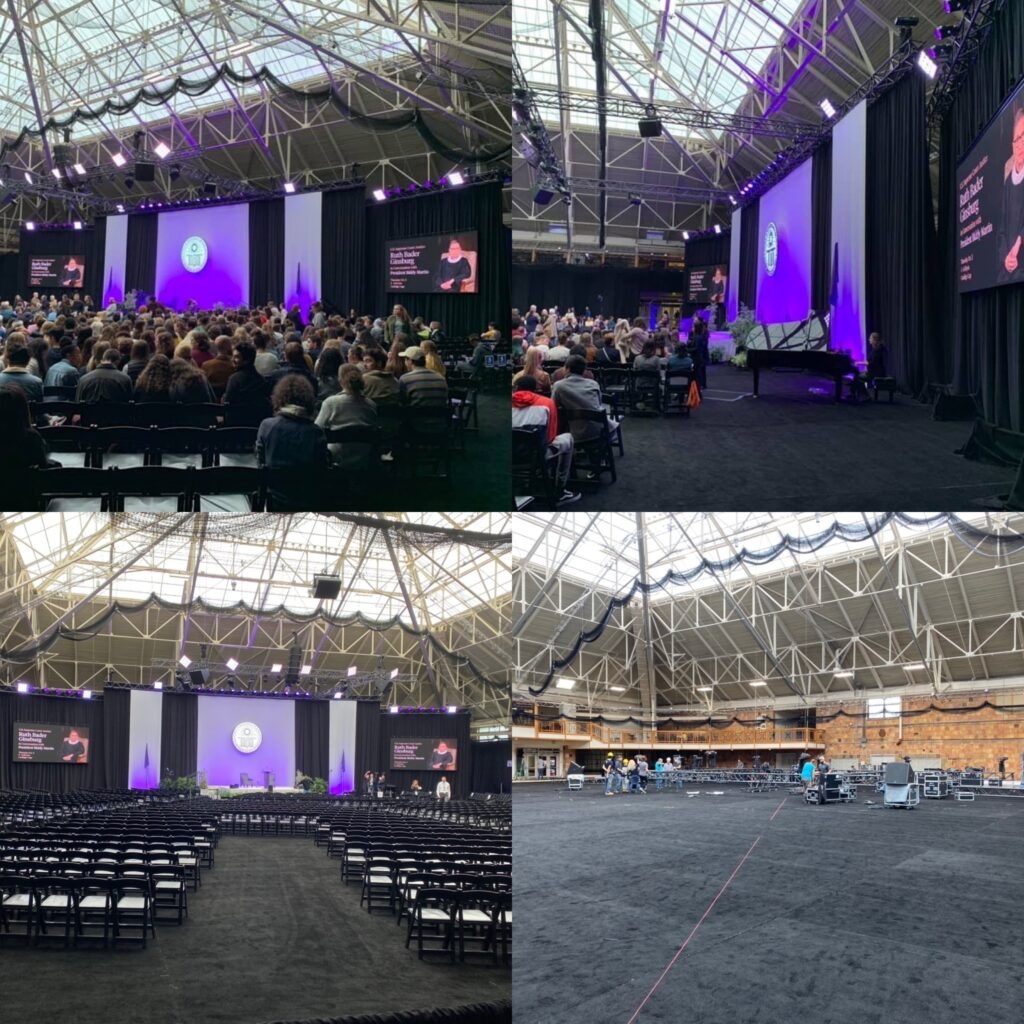 Ruth Bader Ginsberg at Amherst College 2019